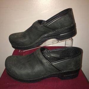 Dansko Black Clogs Size 44